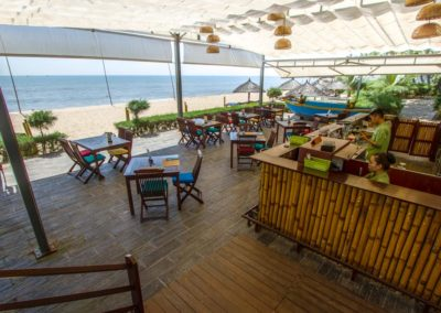 Blue Ocean Resort: Strandbar