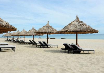 Privatstrand des Boutique Hoi An Resort