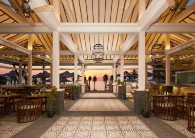 "Restaurant ""The Spice House"" im Cassia Cottage Phu Quoc"