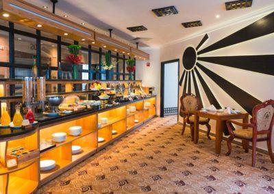 Grand Hotel Saigon: Frühstücksbuffet