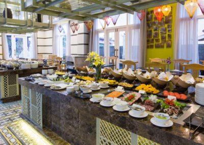 Frühstücksraum im Hotel Royal Hoi An