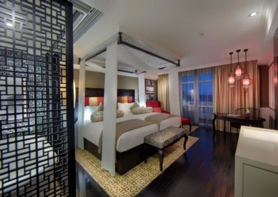 Grand Deluxe Twin-Zimmer des Hotel Royal Hoi An
