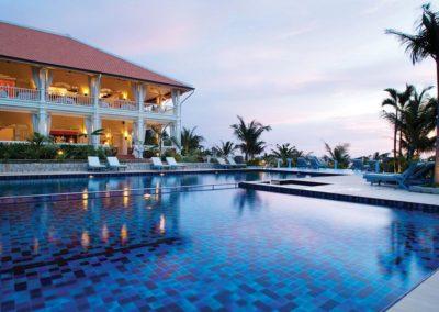 Swimming-Pool des La Veranda Resort Phu Quoc