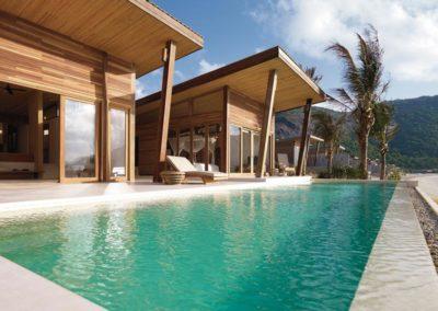 Ocean Front 2 Bedroom Pool Villa des Luxushotels Six Senses Con Dao