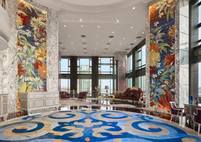 Lobby des Hotels The Reverie Saigon