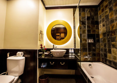 Victoria Sapa Resort: Badezimmer